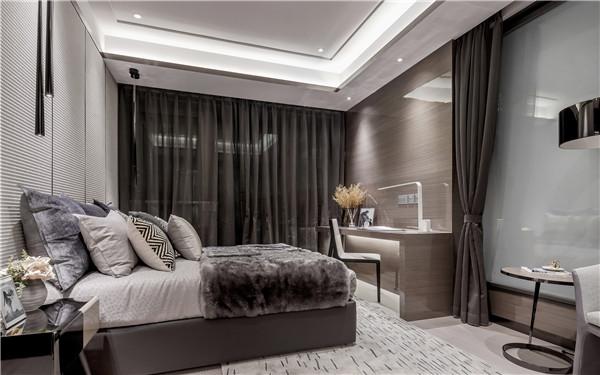 二手房卧室精装修效果图
