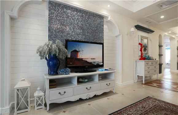 电视机背景墙装修效果图