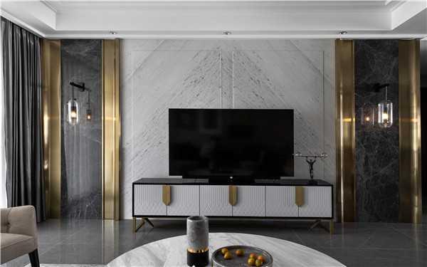 电视机背景墙