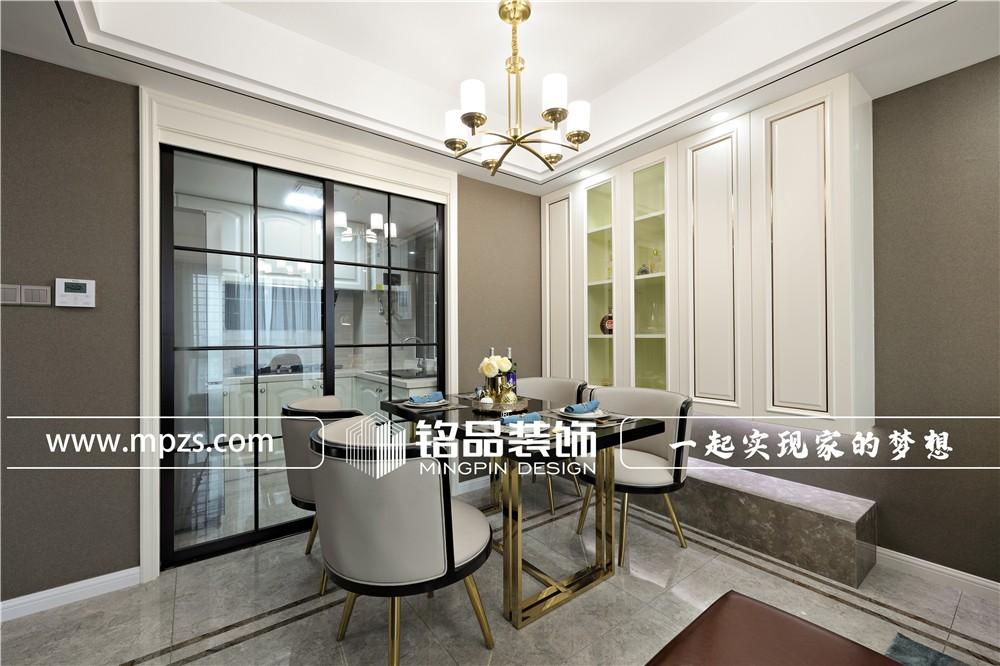 100平方米新房轻奢风装修案例_效果图-杭州萧山区东方海岸