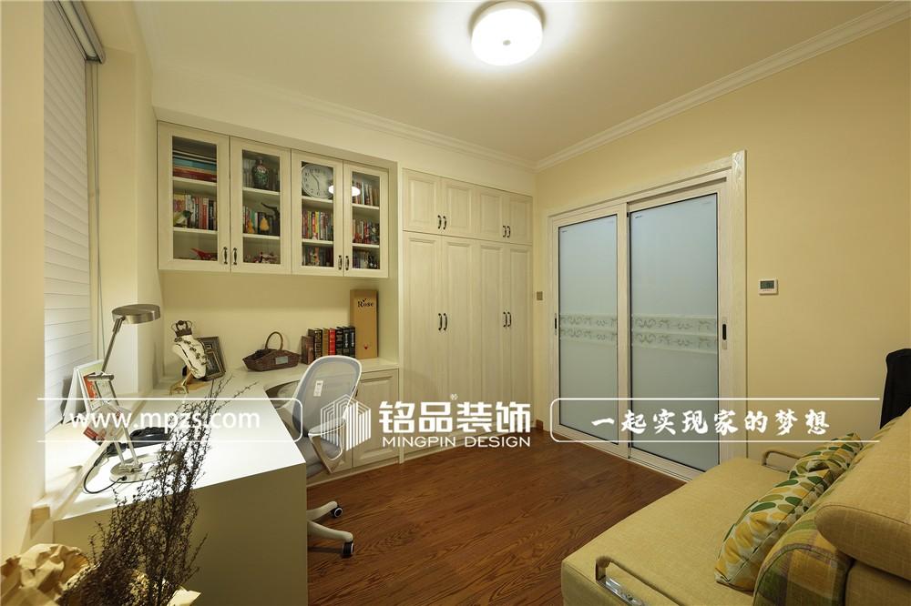 127平方米公寓老房改造轻奢简美风格装修案例_效果图-杭州下城区丽景西苑