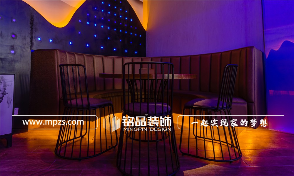 130平方米商铺餐饮粥店装修案例_效果图-杭州大厦武林广场