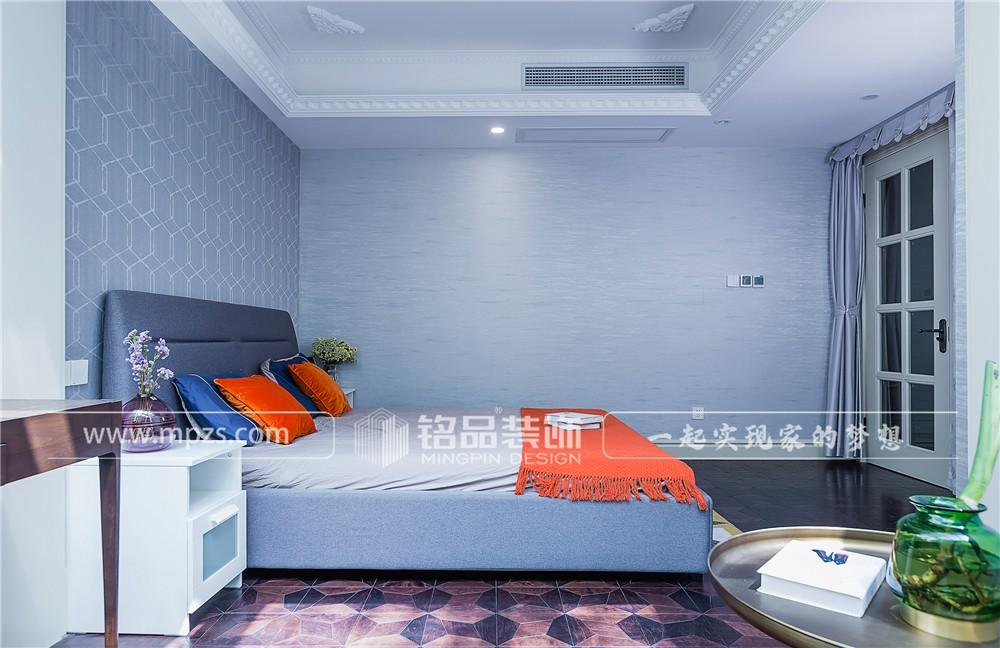 321平方米毛坯新房新古典加现代风格装修案例_效果图-杭州江干区相江公寓
