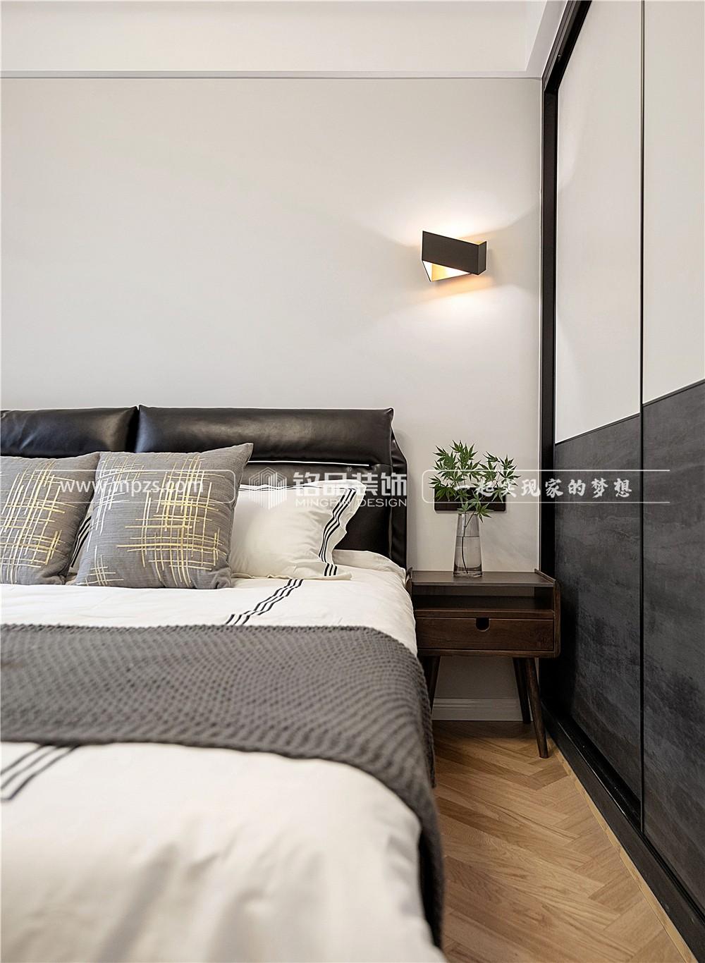 杭州79平方米现代风格公寓装修案例_效果图