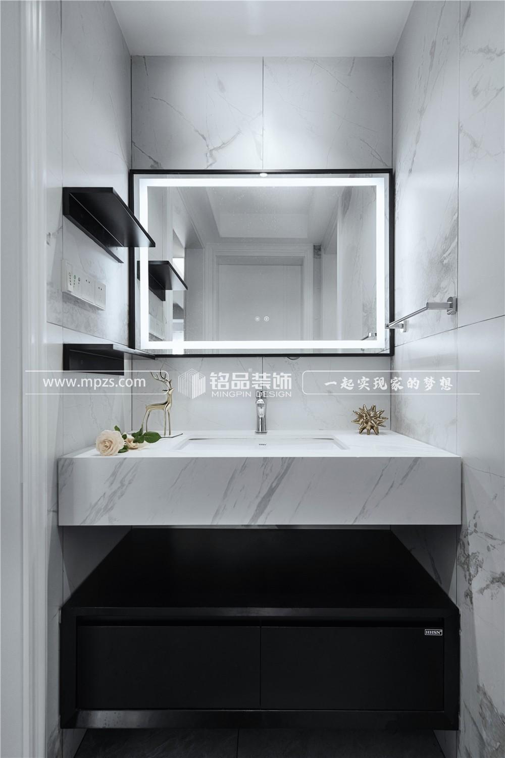杭州127平方米现代风格精装修案例_效果图