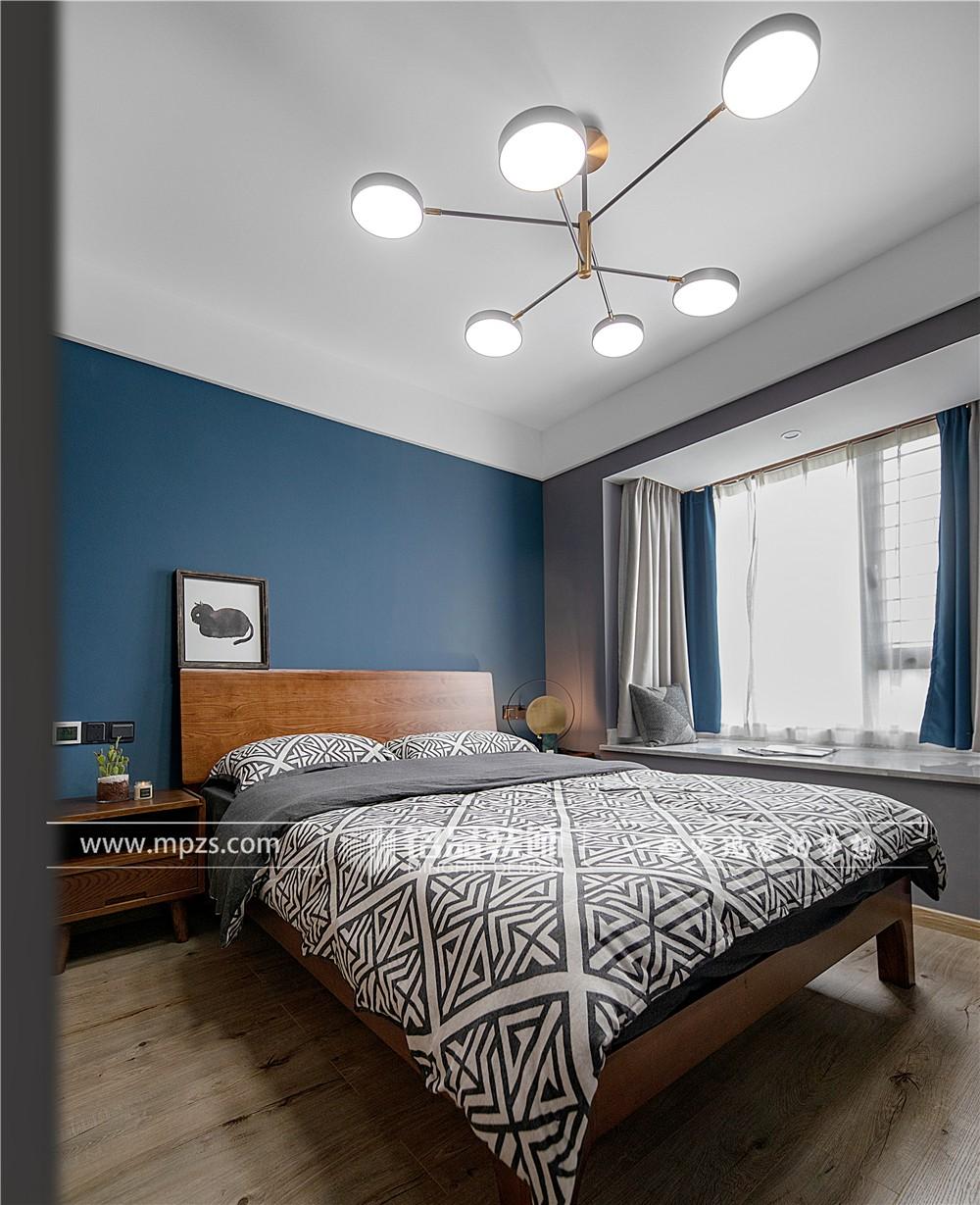 杭州126平方米现代轻奢风格毛坯新房装修案例_效果图