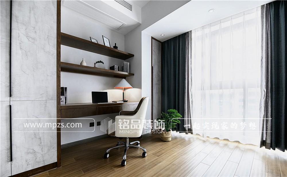 杭州170平方米现代简约风格大平层装修案例_效果图