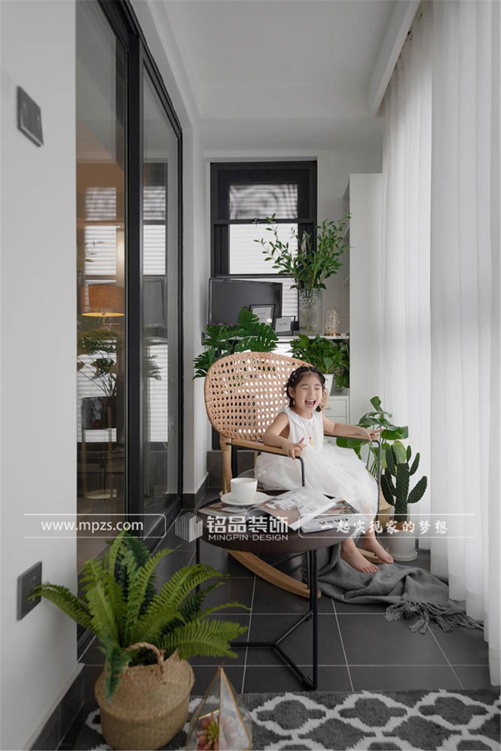 杭州124平方米现代轻奢风格毛坯新房装修案例_效果图