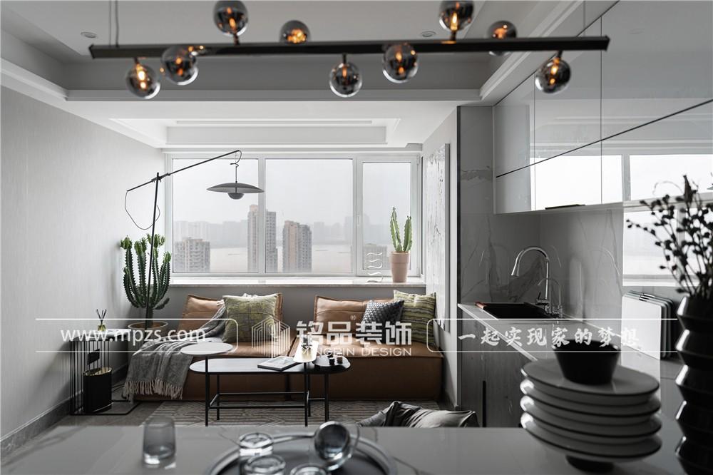 杭州450平方米现代港式风格顶跃装修案例_效果图