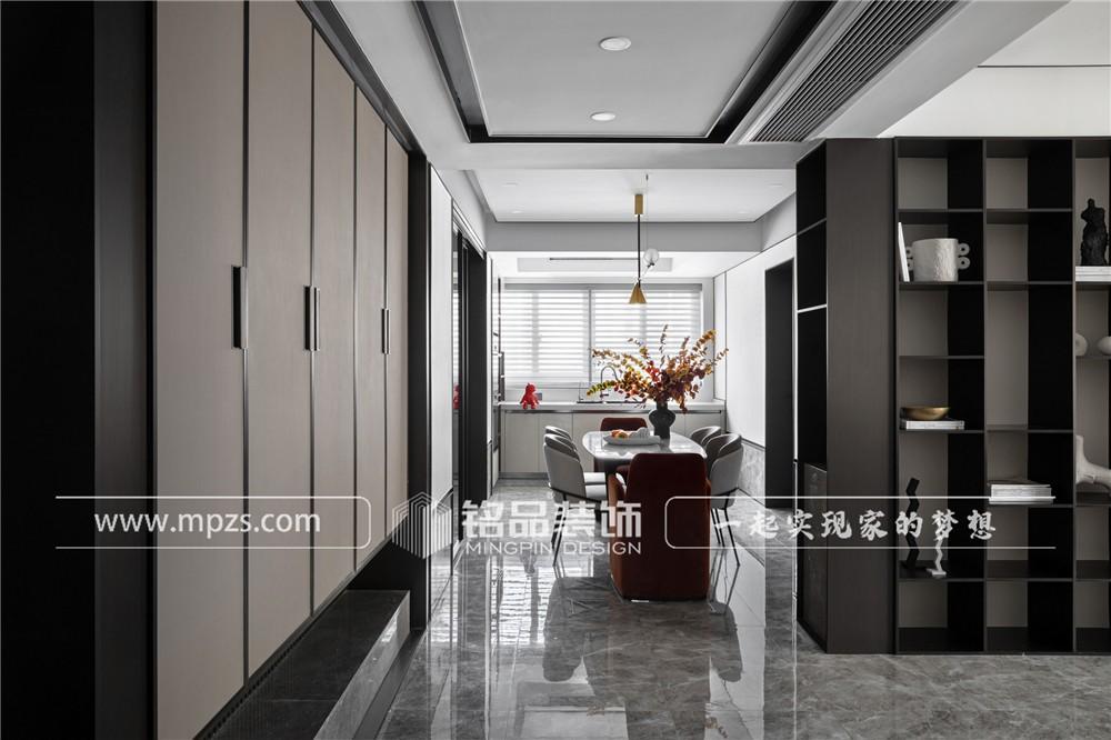杭州169平方米现代风格平层大宅装修案例_效果图