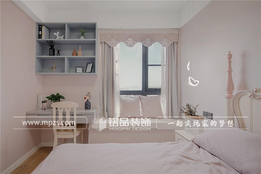 杭州126平方米北欧风格老房改造装修案例_效果图