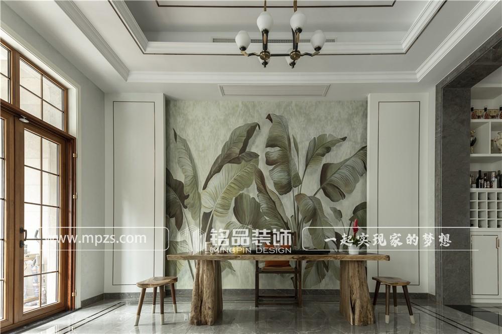 杭州400平方米轻奢风格别墅装修案例_效果图