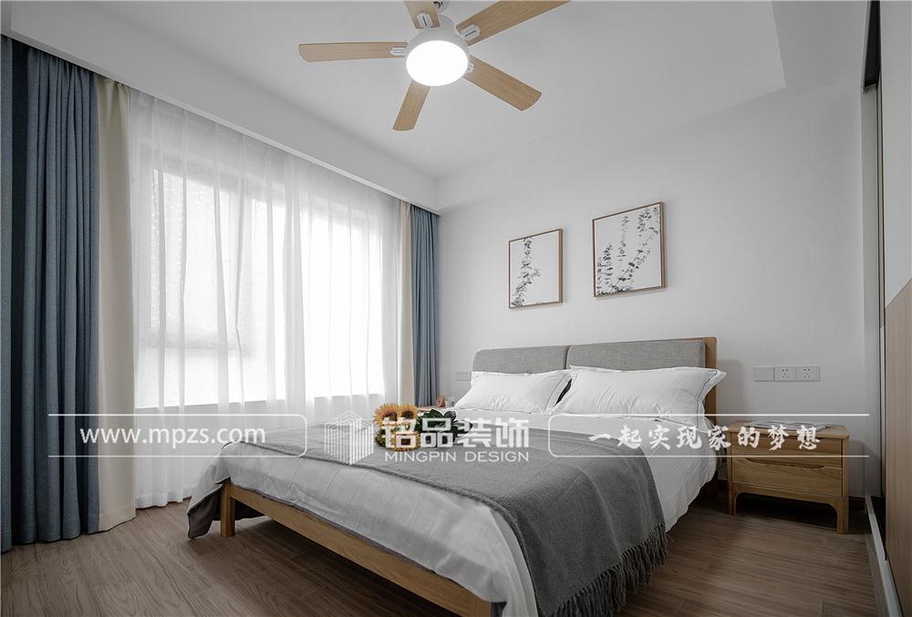 杭州140平方米北欧风格三室两厅公寓装修案例_效果图 (9)