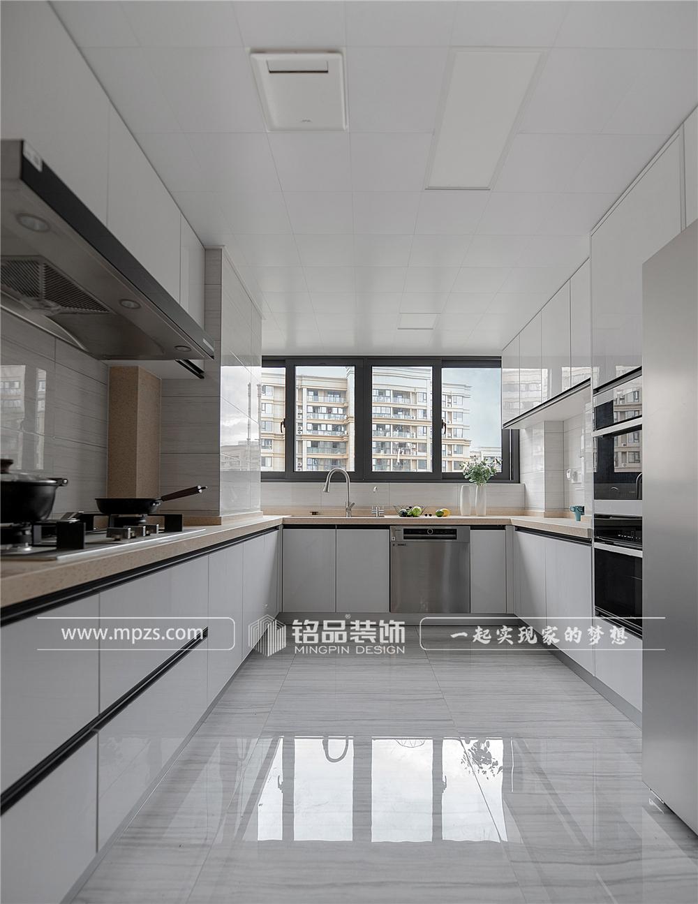 杭州140平方米北欧风格三室两厅公寓装修案例_效果图 (5)