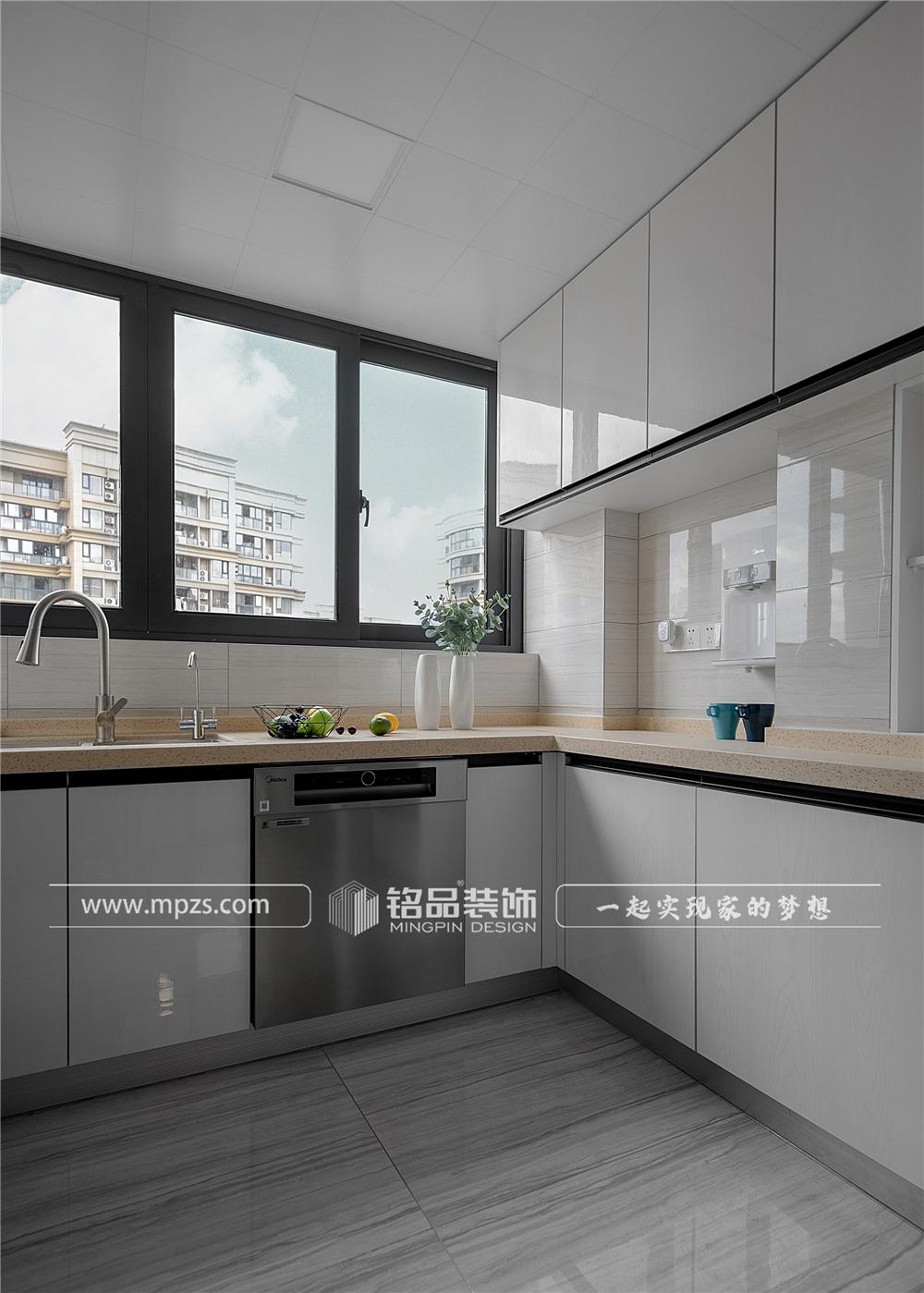 杭州140平方米北欧风格三室两厅公寓装修案例_效果图 (4)