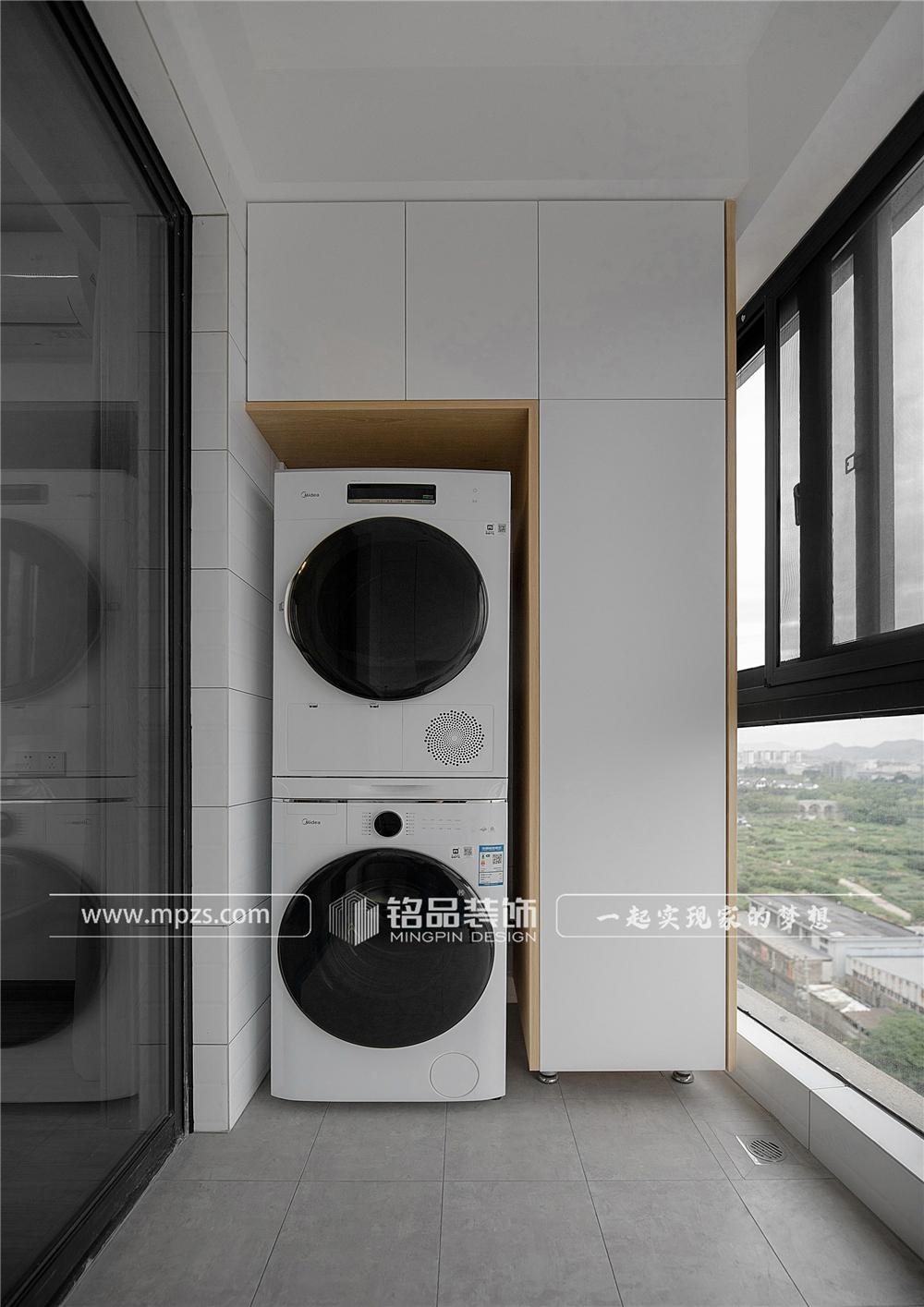 杭州140平方米北欧风格三室两厅公寓装修案例_效果图 (11)