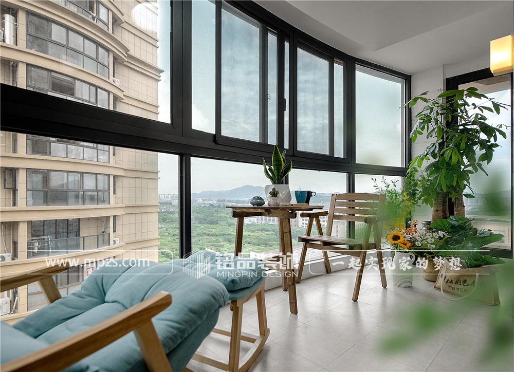 杭州140平方米北欧风格三室两厅公寓装修案例_效果图 (10)