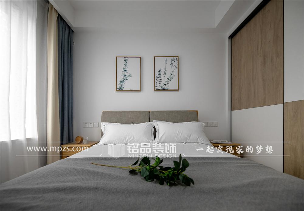 杭州140平方米北欧风格三室两厅公寓装修案例_效果图 (8)