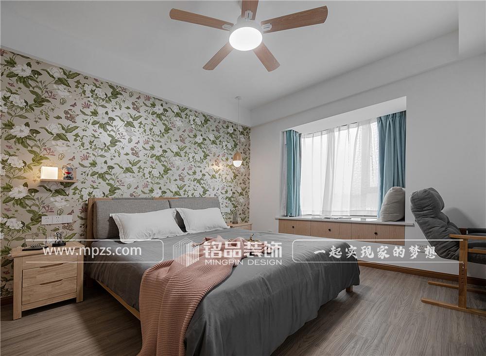 杭州140平方米北欧风格三室两厅公寓装修案例_效果图 (7)
