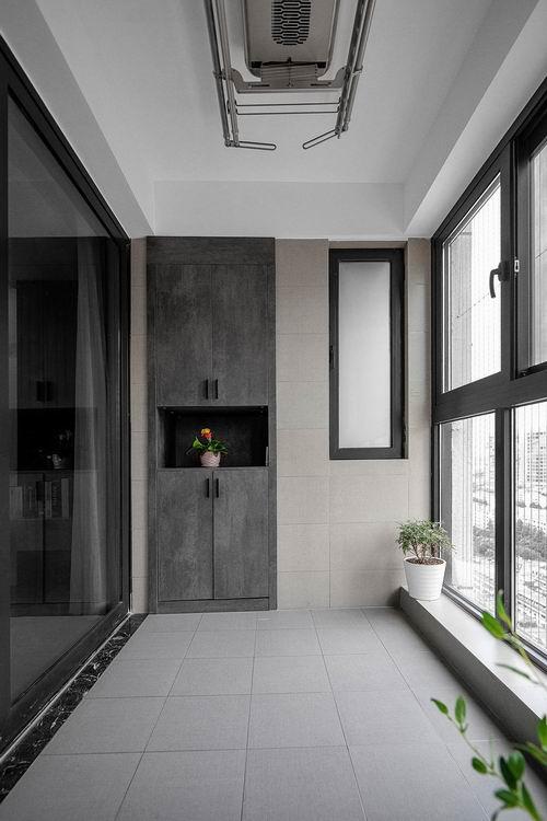 104㎡现代风格三室两厅装修案例效果图 (14)