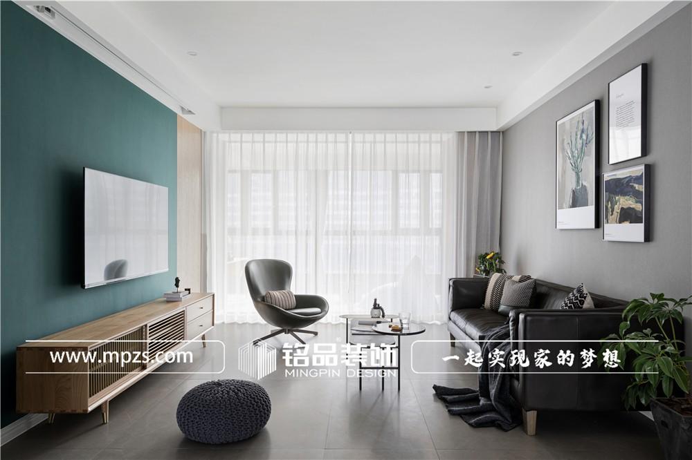 杭州166平方米轻奢风格毛坯新房装修案例_效果图