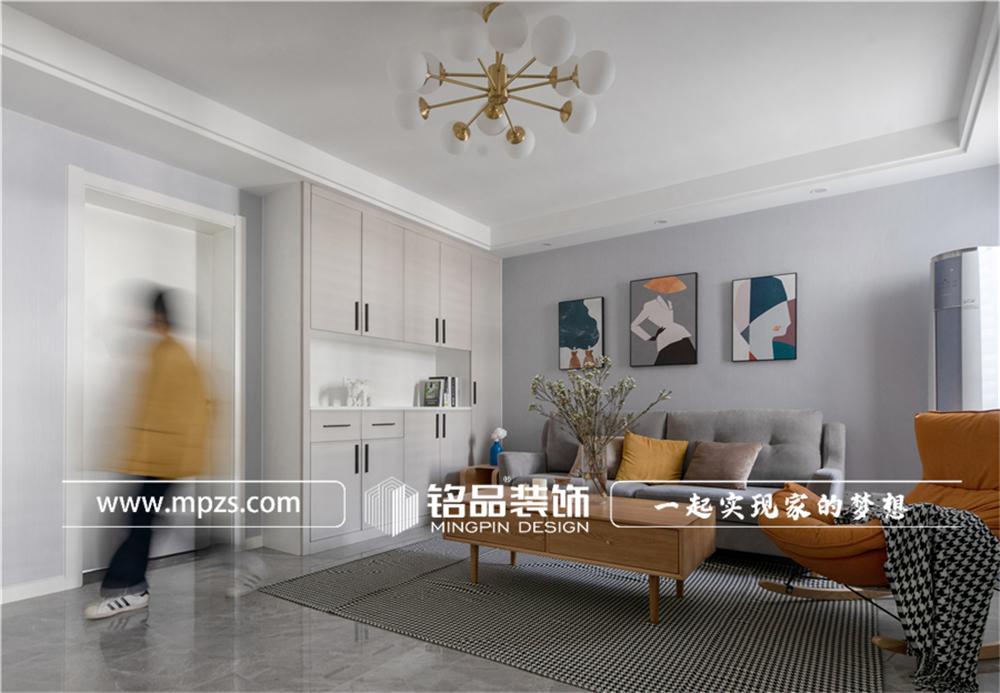 杭州下城区兴和公寓【老房改造装修】【北欧风格】90平方米 (2)