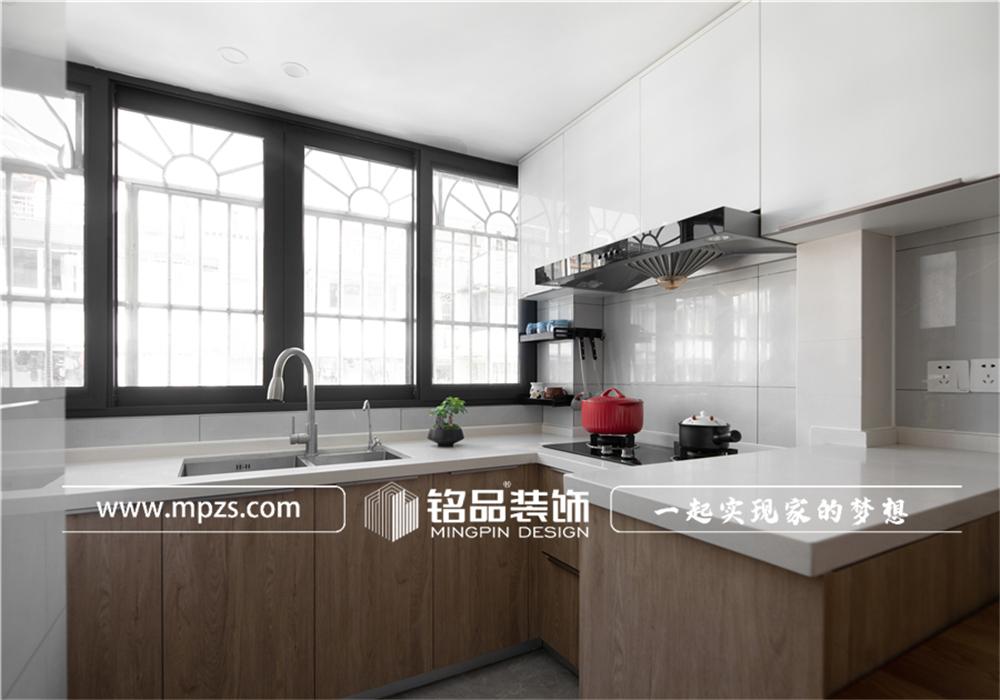 杭州下城区兴和公寓【老房改造装修】【北欧风格】90平方米 (4)