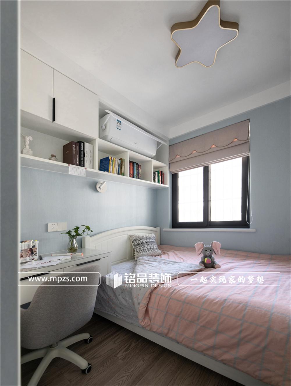 杭州下城区兴和公寓【老房改造装修】【北欧风格】90平方米 (9)