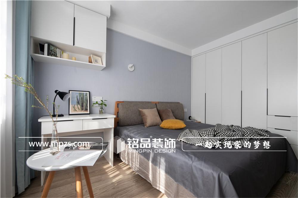 杭州下城区兴和公寓【老房改造装修】【北欧风格】90平方米 (8)
