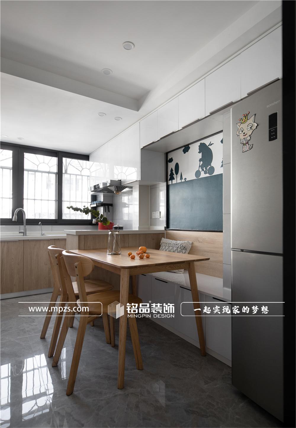 杭州下城区兴和公寓【老房改造装修】【北欧风格】90平方米 (3)