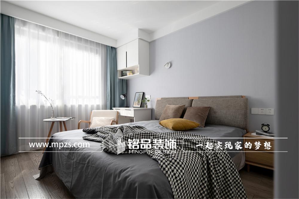 杭州下城区兴和公寓【老房改造装修】【北欧风格】90平方米 (7)