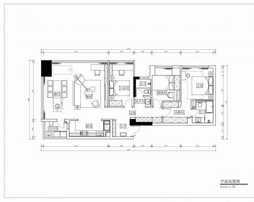 126㎡功能性公寓装修 (2)
